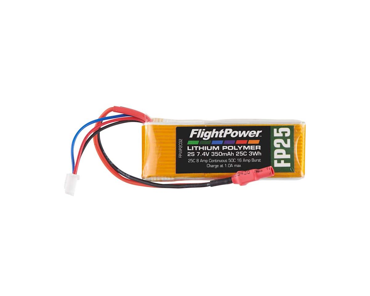 FlightPower LiPo FP25 2S 7.4V 350mAh 25C Micro Plug