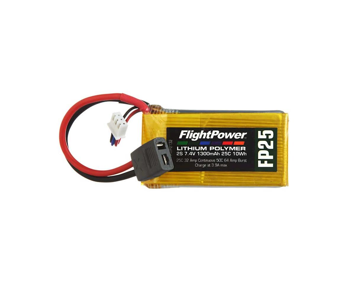 FlightPower LiPo FP25 2S 7.4V 1300mAh 25C Star Plug
