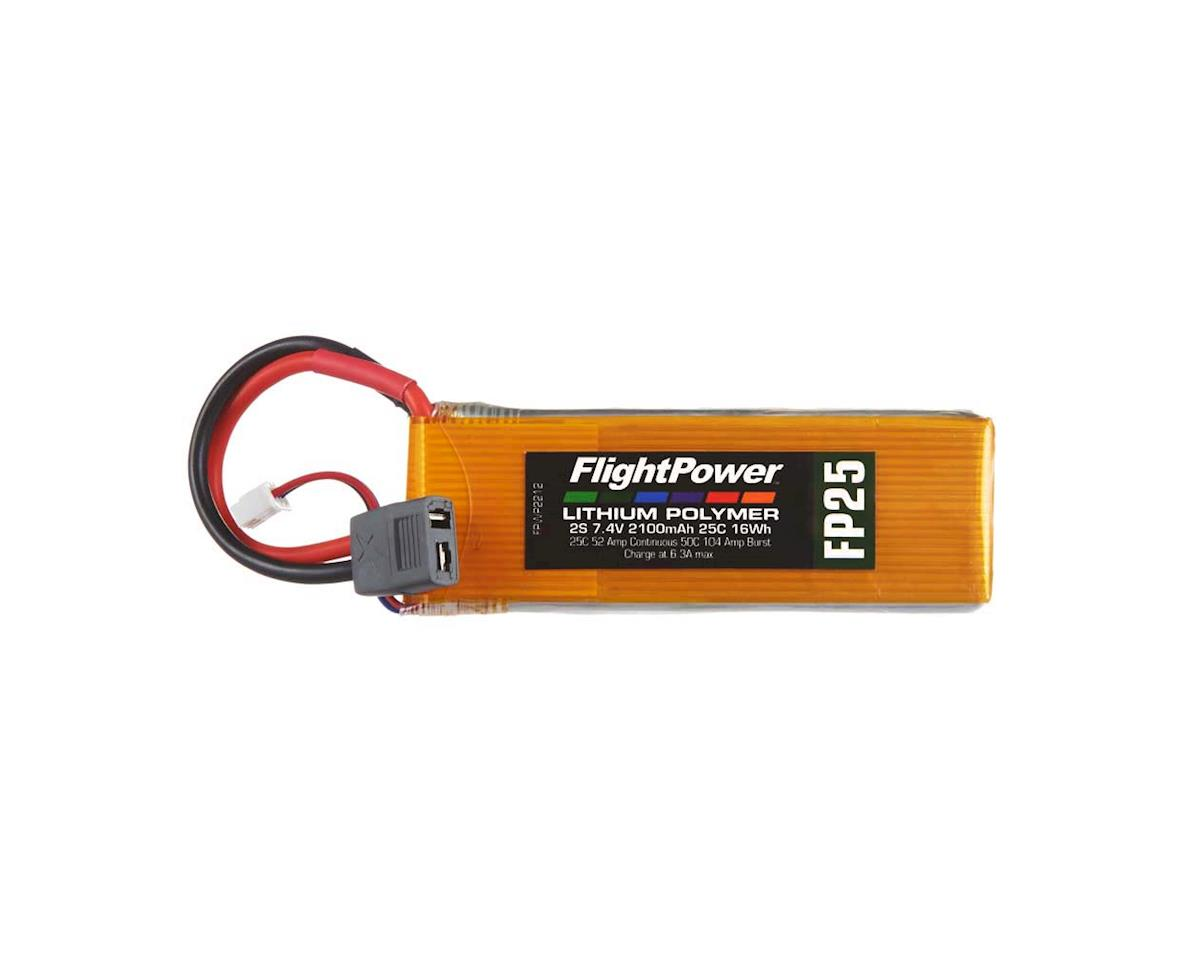 FlightPower LiPo FP25 2S 7.4V 2100mAh 25C Star Plug