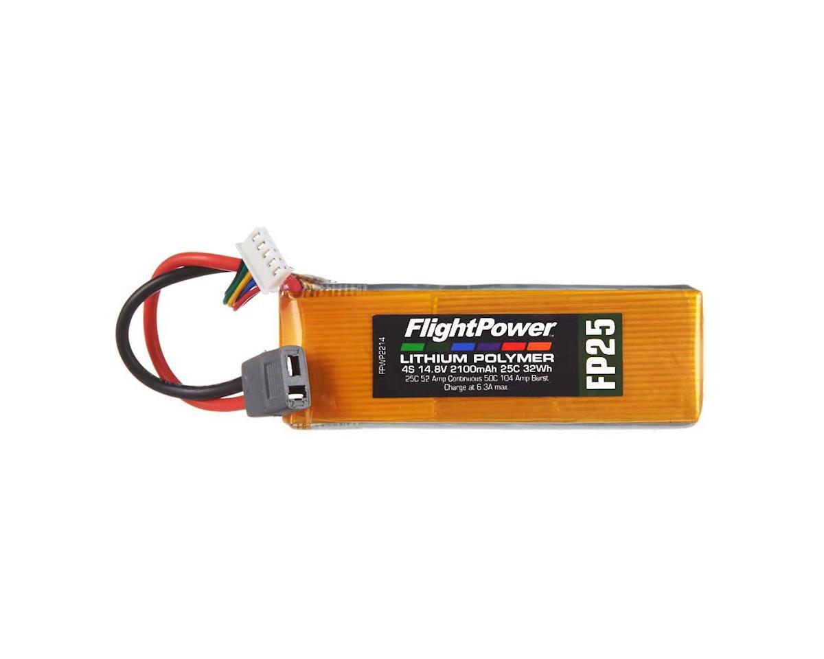 FlightPower LiPo FP25 4S 14.8V 2100mAh 25C Star Plug