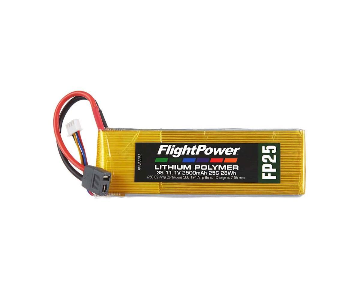 LiPo FP25 3S 11.1V 2500mAh 25C Star Plug