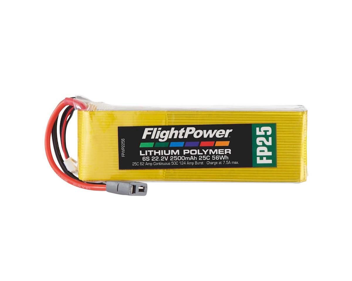 FlightPower LiPo FP25 6S 22.2V 2500mAh 25C Star Plug