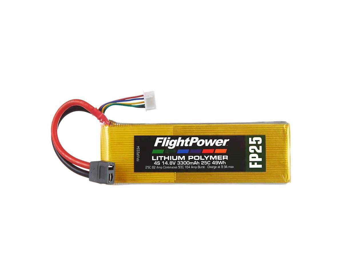 LiPo FP25 4S 14.8V 3300mAh 25C Star Plug