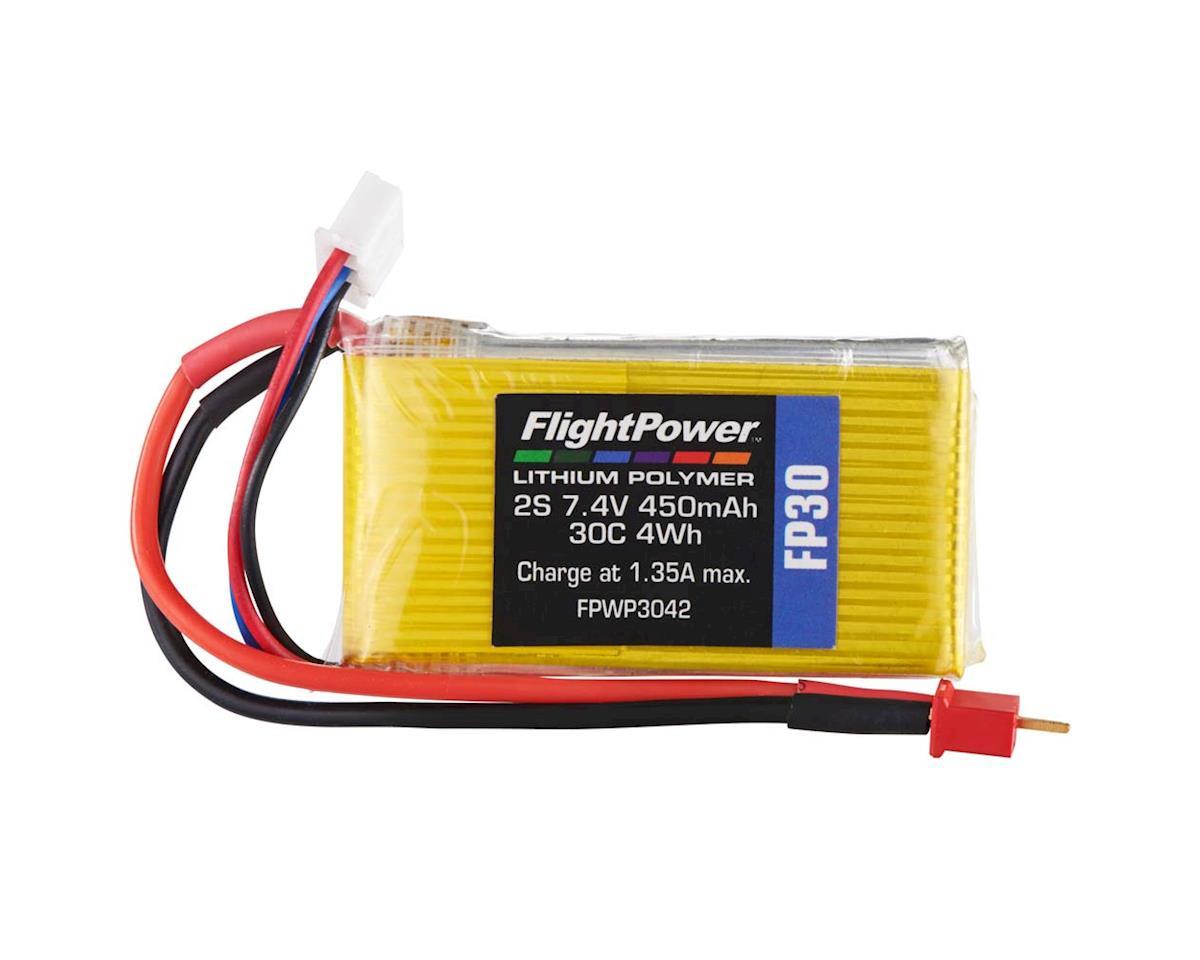 FlightPower LiPo FP30 2S 7.4V 450mAh 30C Micro Plug