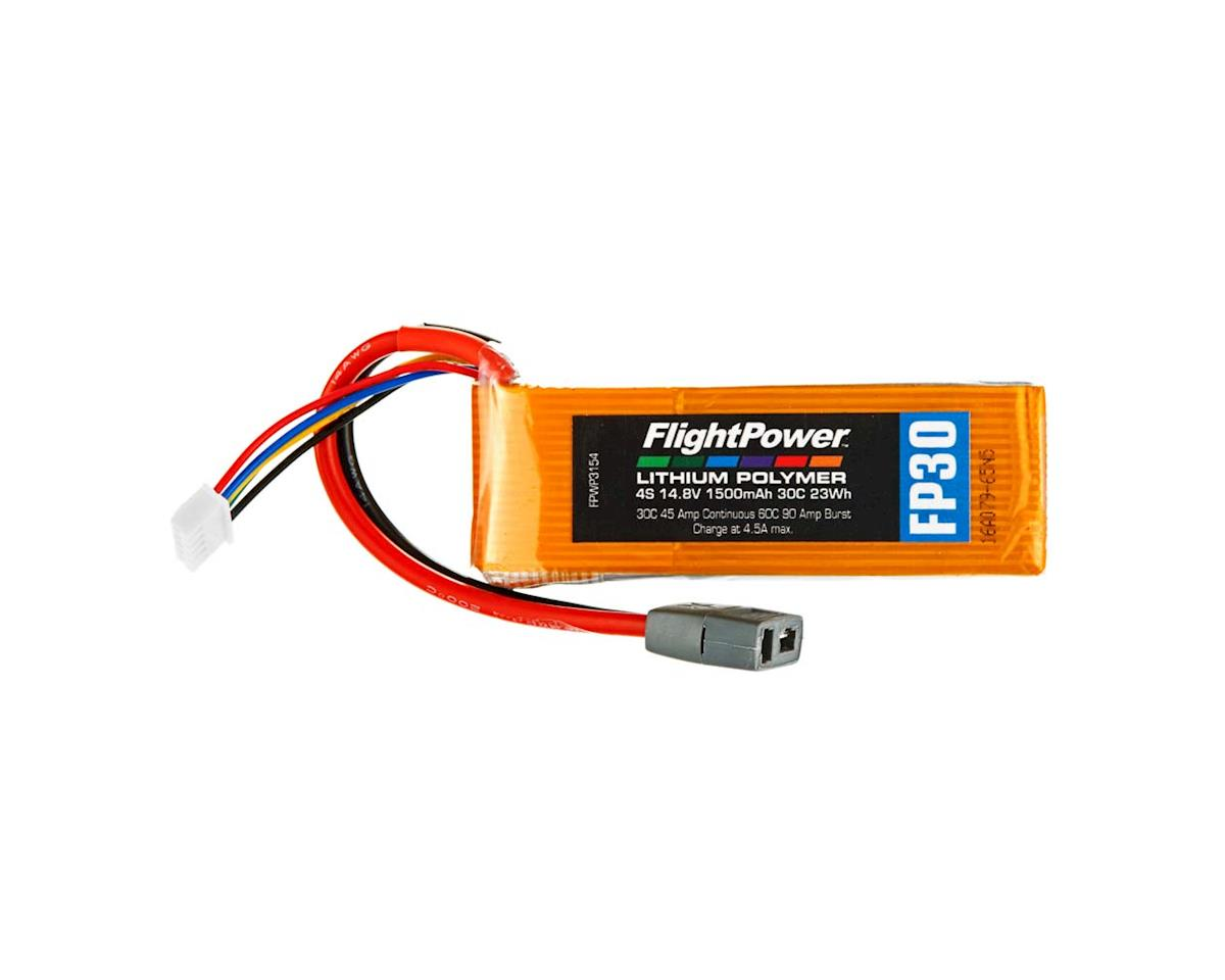 FlightPower LiPo FP30 4S 14.8V 1500mAh 30C Star Plug