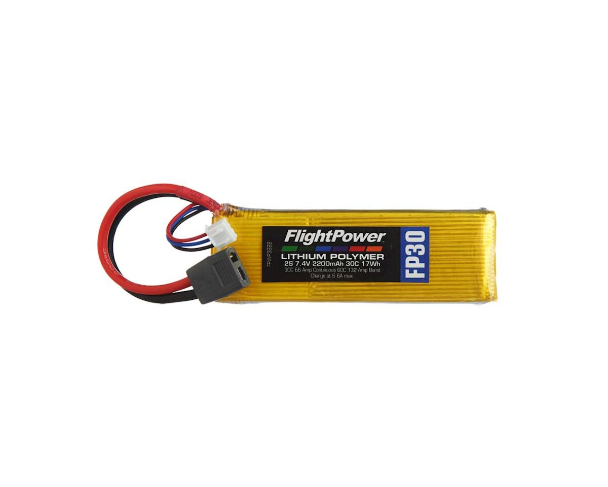 LiPo FP30 2S 7.4V 2200mAh 30C Star Plug by FlightPower