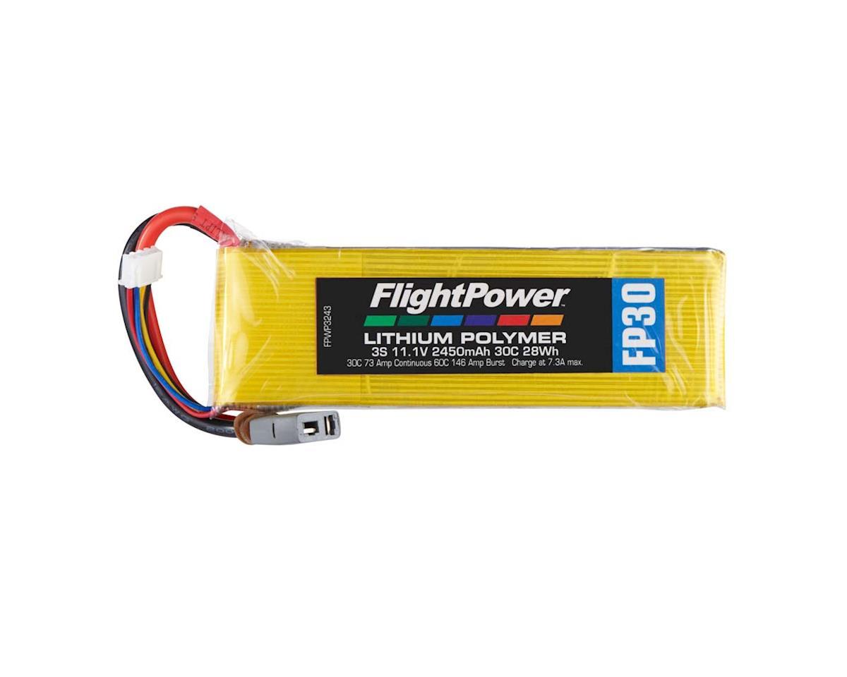 LiPo FP30 3S 11.1V 2450mAh 30C Star Plug