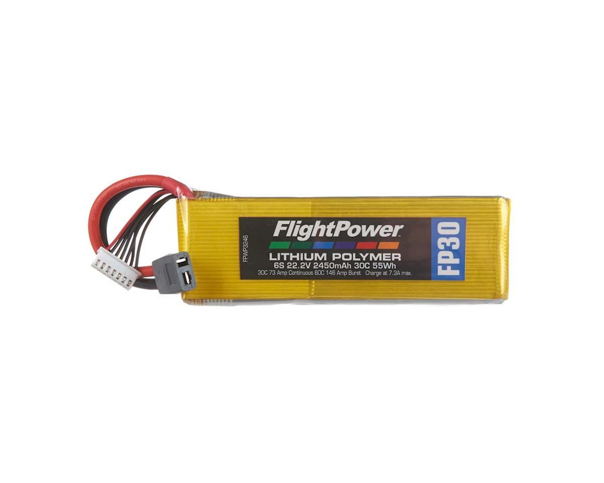 FlightPower LiPo FP30 6S 22.2V 2450mAh 30C Star Plug
