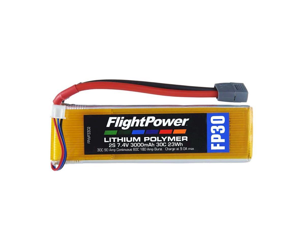 FlightPower LiPo FP30 2S 7.4V 3000mAh 30C Star Plug