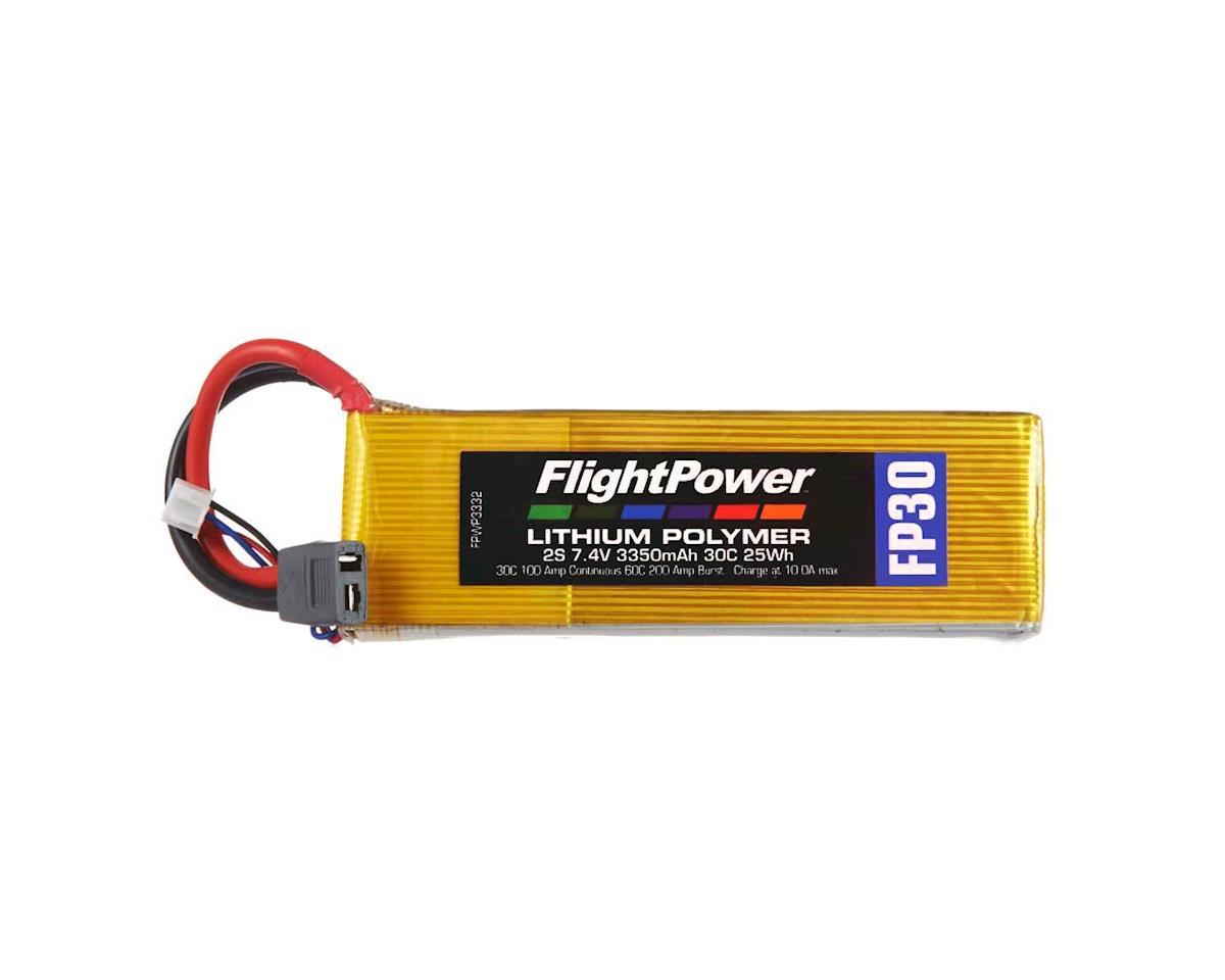 FlightPower LiPo FP30 2S 7.4V 3350mAh 30C Star Plug