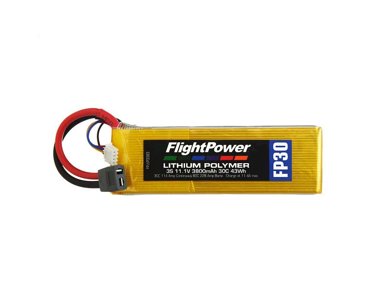 FlightPower LiPo FP30 3S 11.1V 3800mAh 30C Star Plug