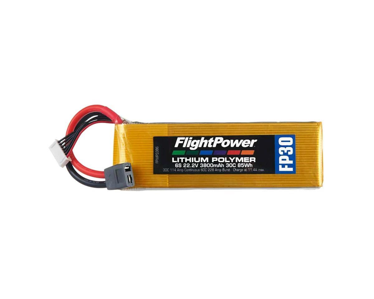 FlightPower LiPo FP30 6S 22.2V 3800mAh 30C Star Plug