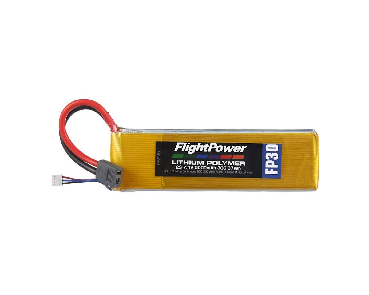 FlightPower LiPo FP30 2S 7.4V 5000mAh 30C Star Plug