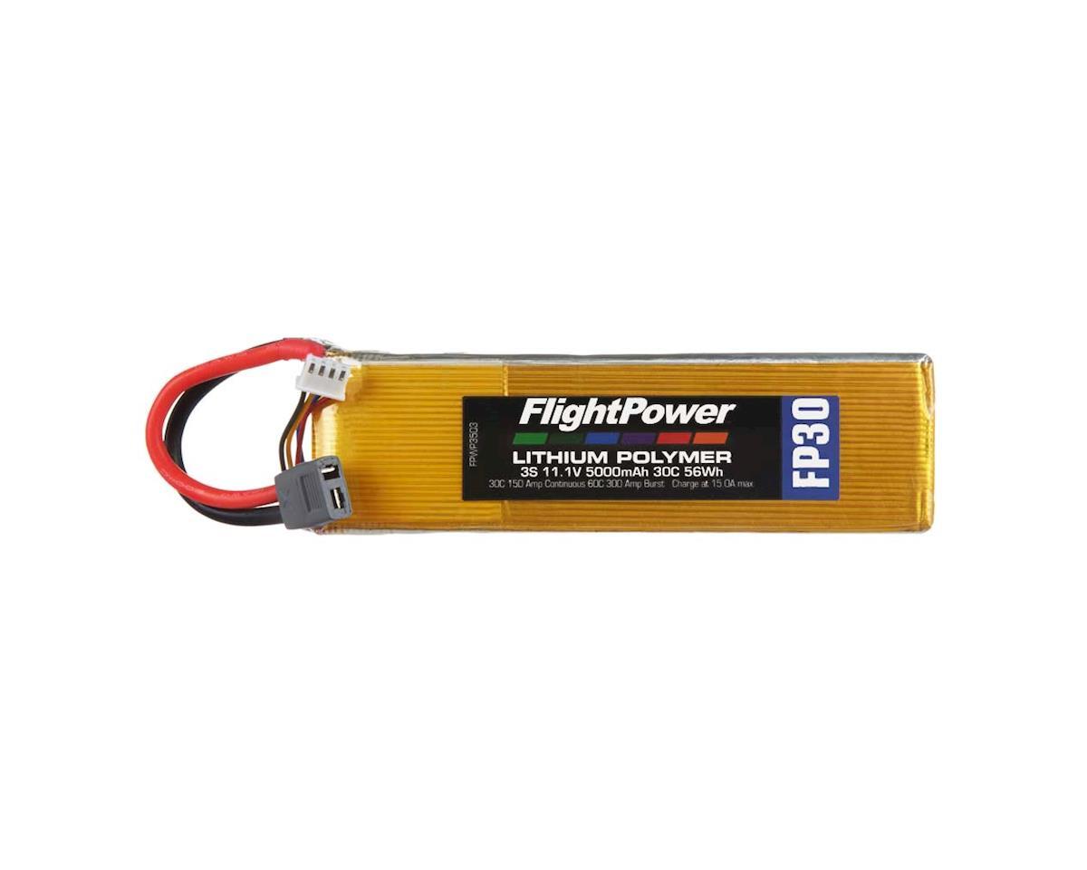 FlightPower LiPo FP30 3S 11.1V 5000mAh 30C Star Plug