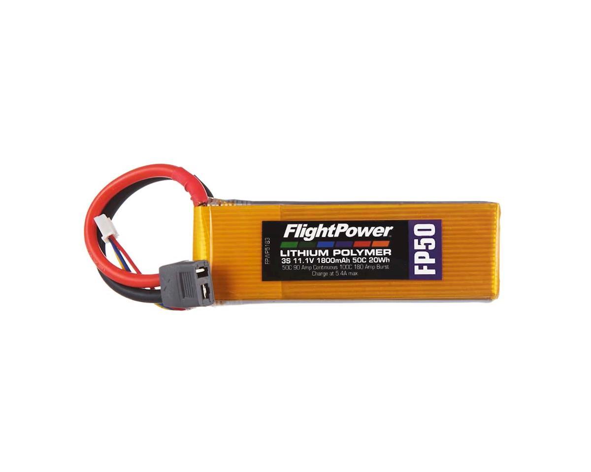 LiPo FP50 3S 11.1V 1800mAh 50C Star Plug