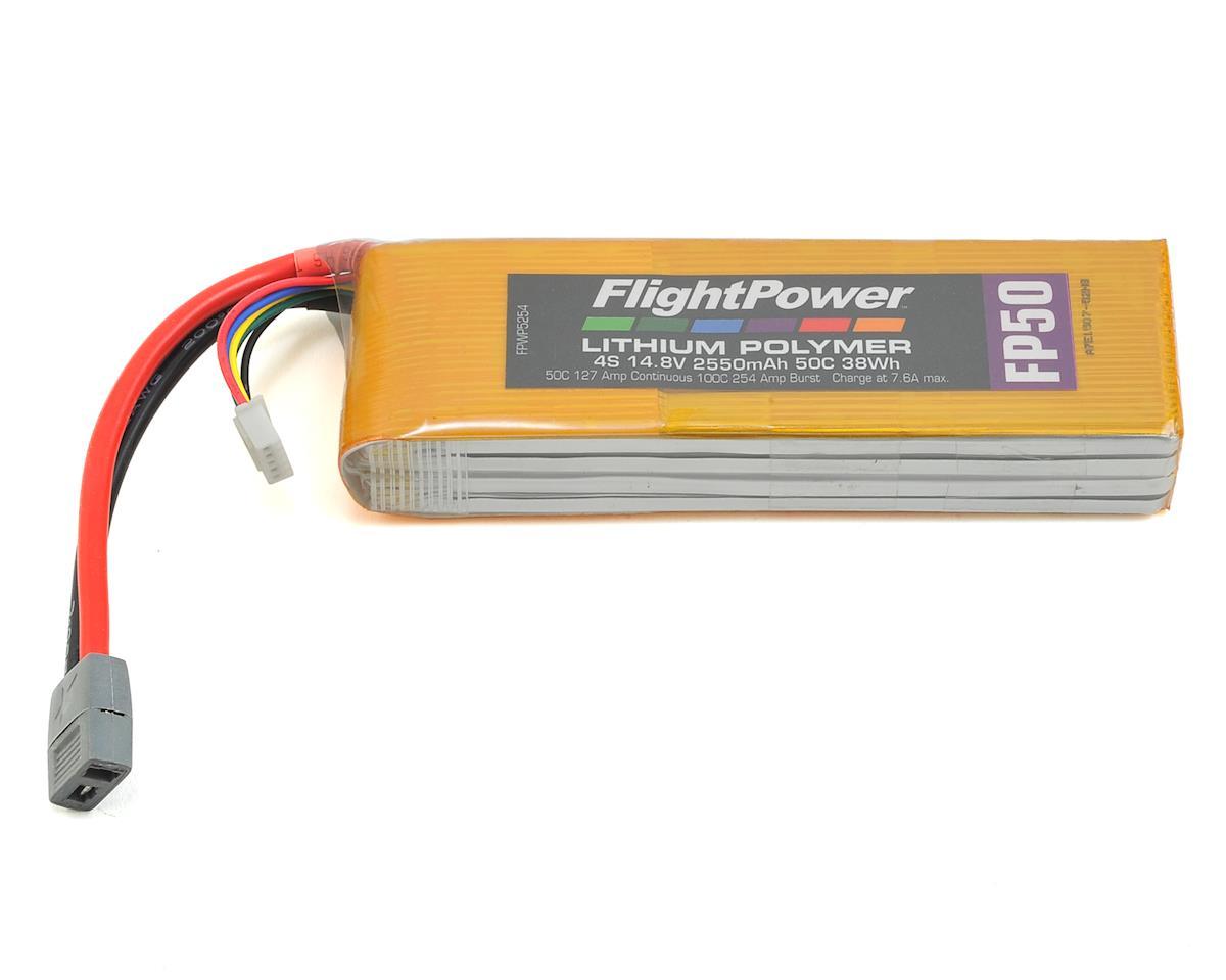 FlightPower LiPo FP50 4S 14.8V 2550mAh 50C Star Plug