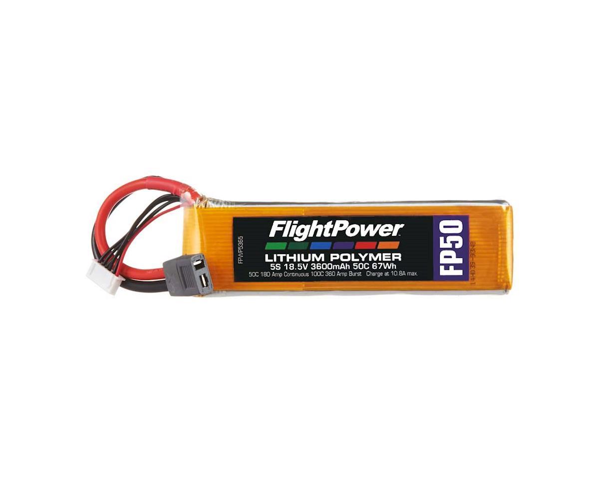 FlightPower LiPo FP50 5S 18.5V 3600mAh 50C Star Plug