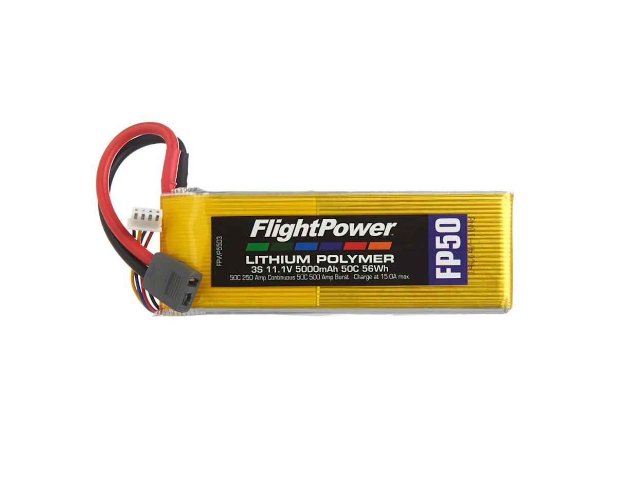 LiPo FP50 3S 11.1V 5000mAh 50C Star Plug
