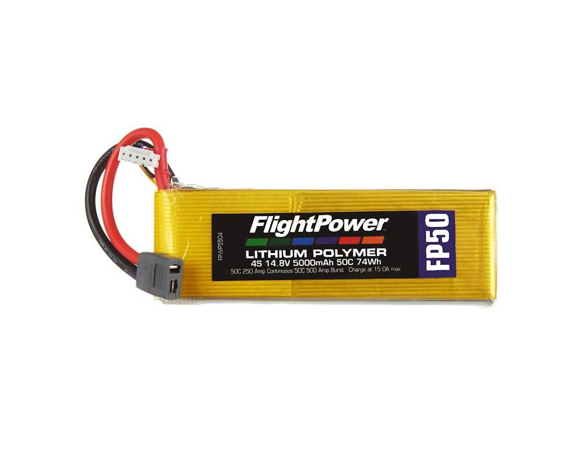 FlightPower LiPo FP50 4S 14.8V 5000mAh 50C Star Plug