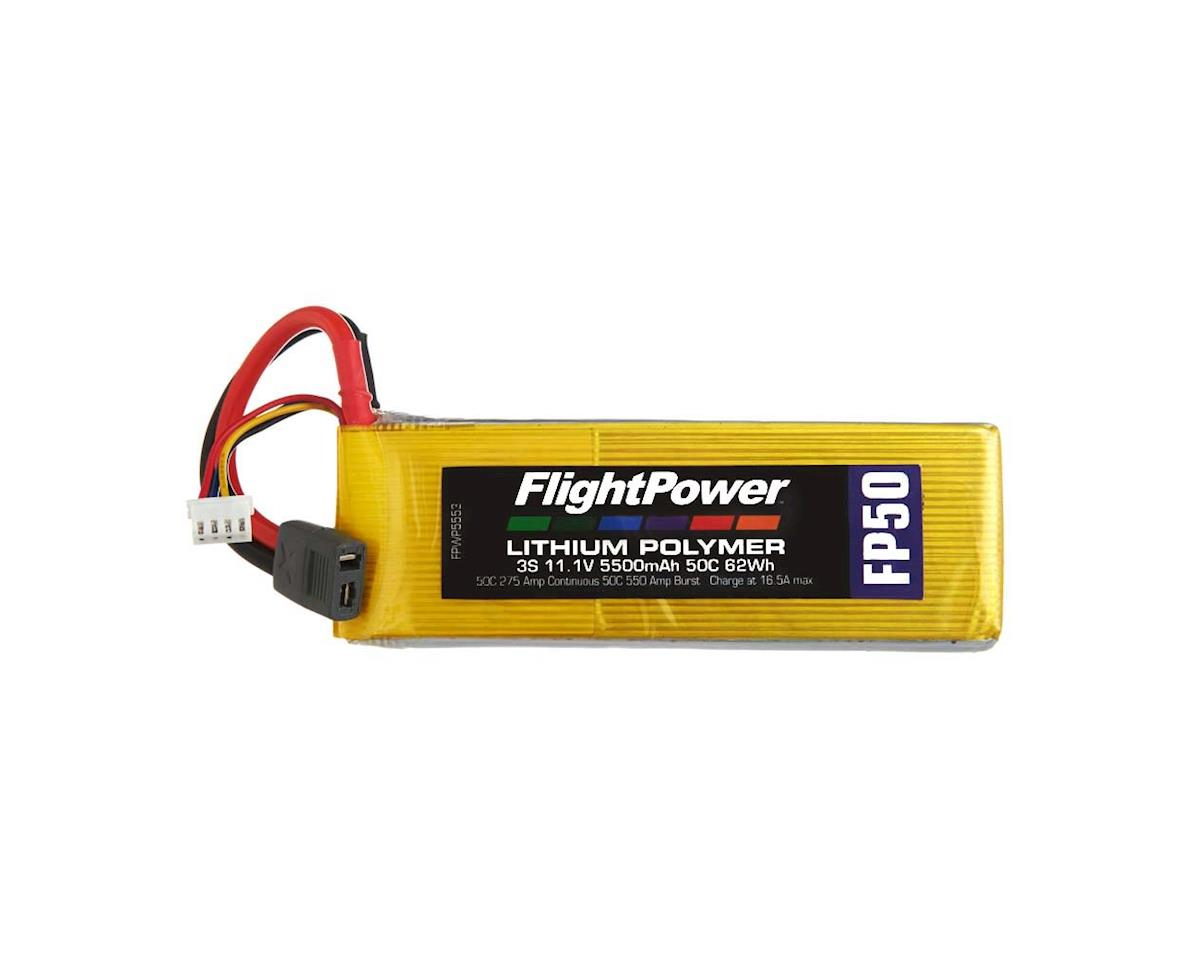 FlightPower LiPo FP50 3S 11.1V 5500mAh 50C Star Plug