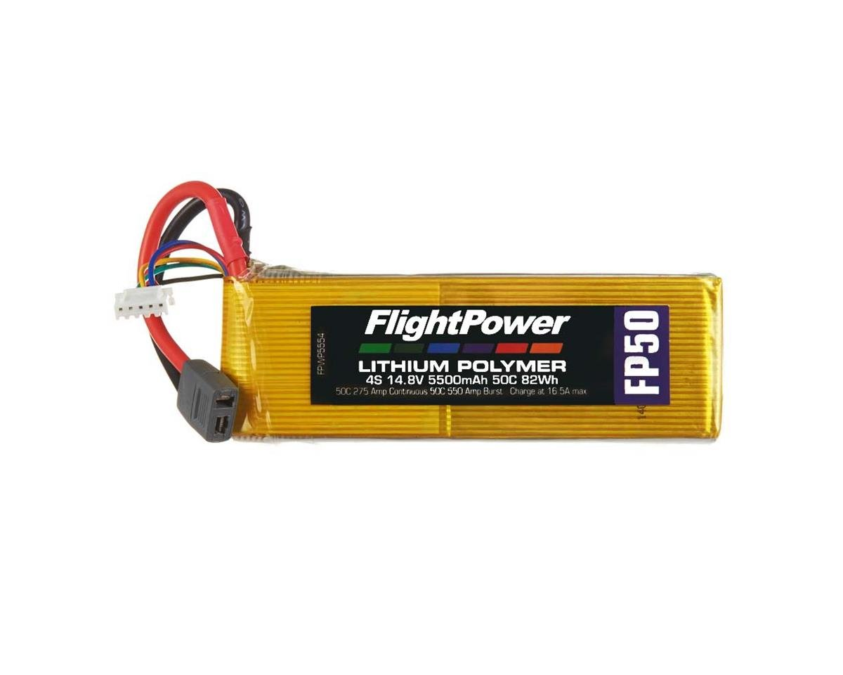 FlightPower LiPo FP50 4S 14.8V 5500mAh 50C Star Plug