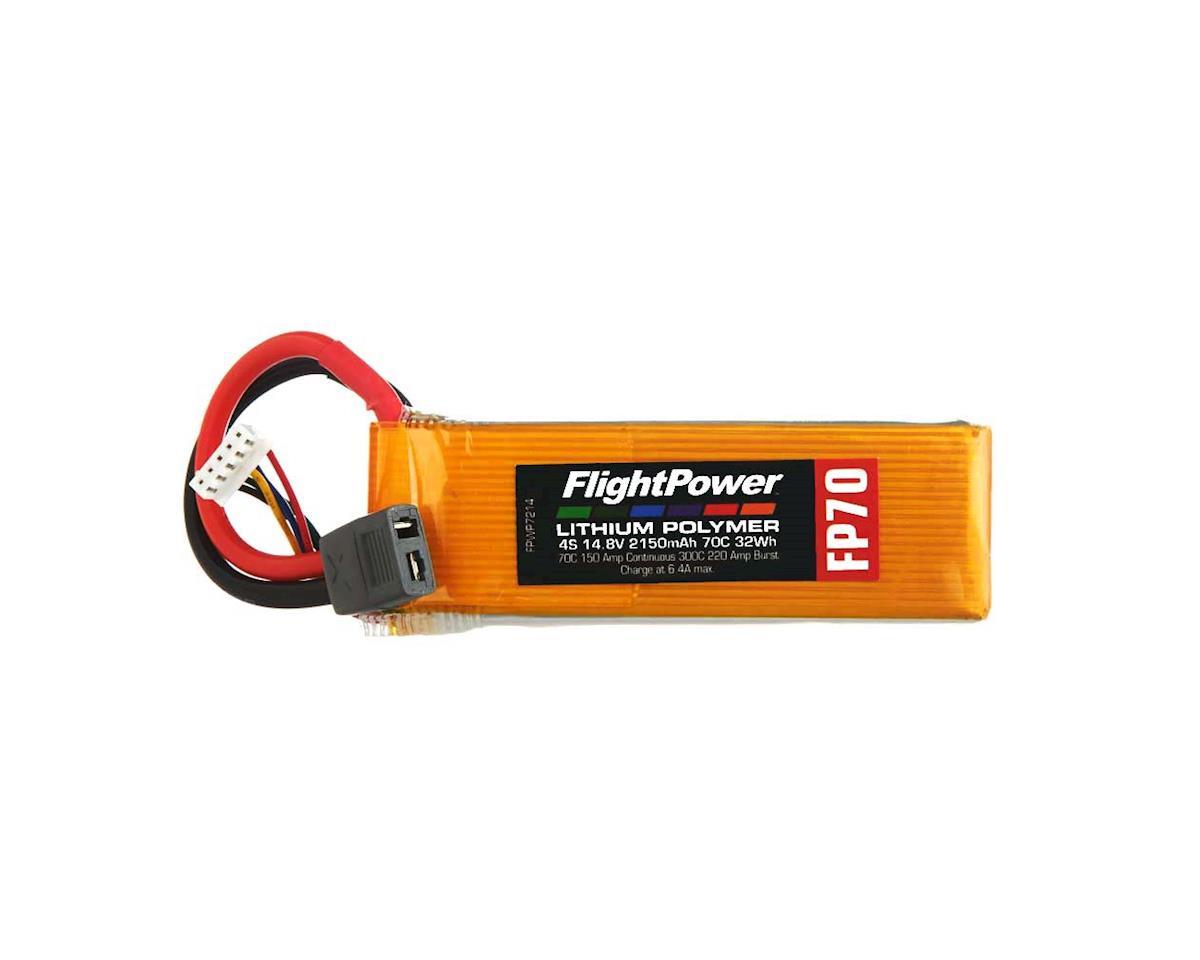 FlightPower LiPo FP70 4S 14.8V 2150mAh 70C Star Plug
