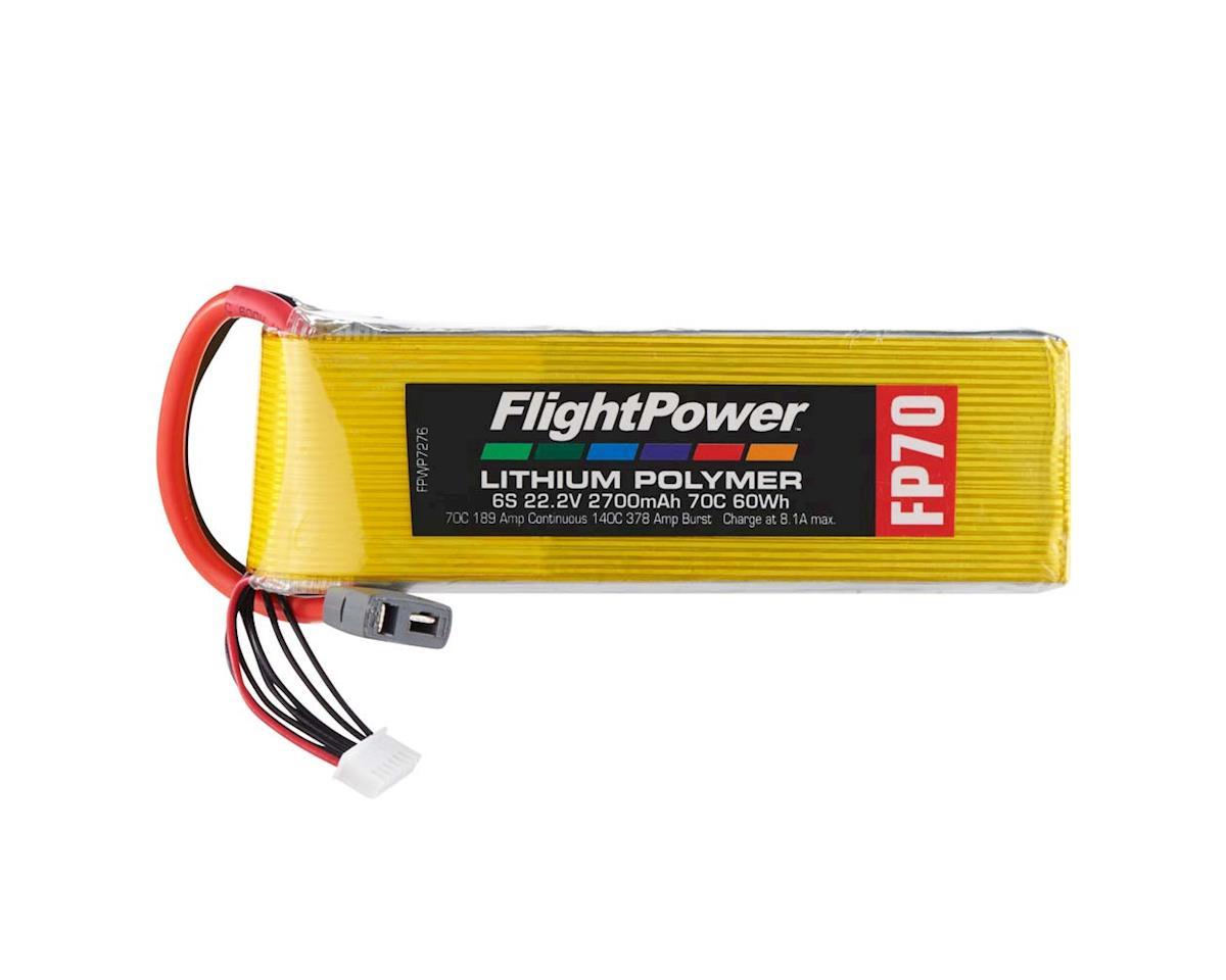 FlightPower LiPo FP70 6S 22.2V 2700mAh 70C Star Plug