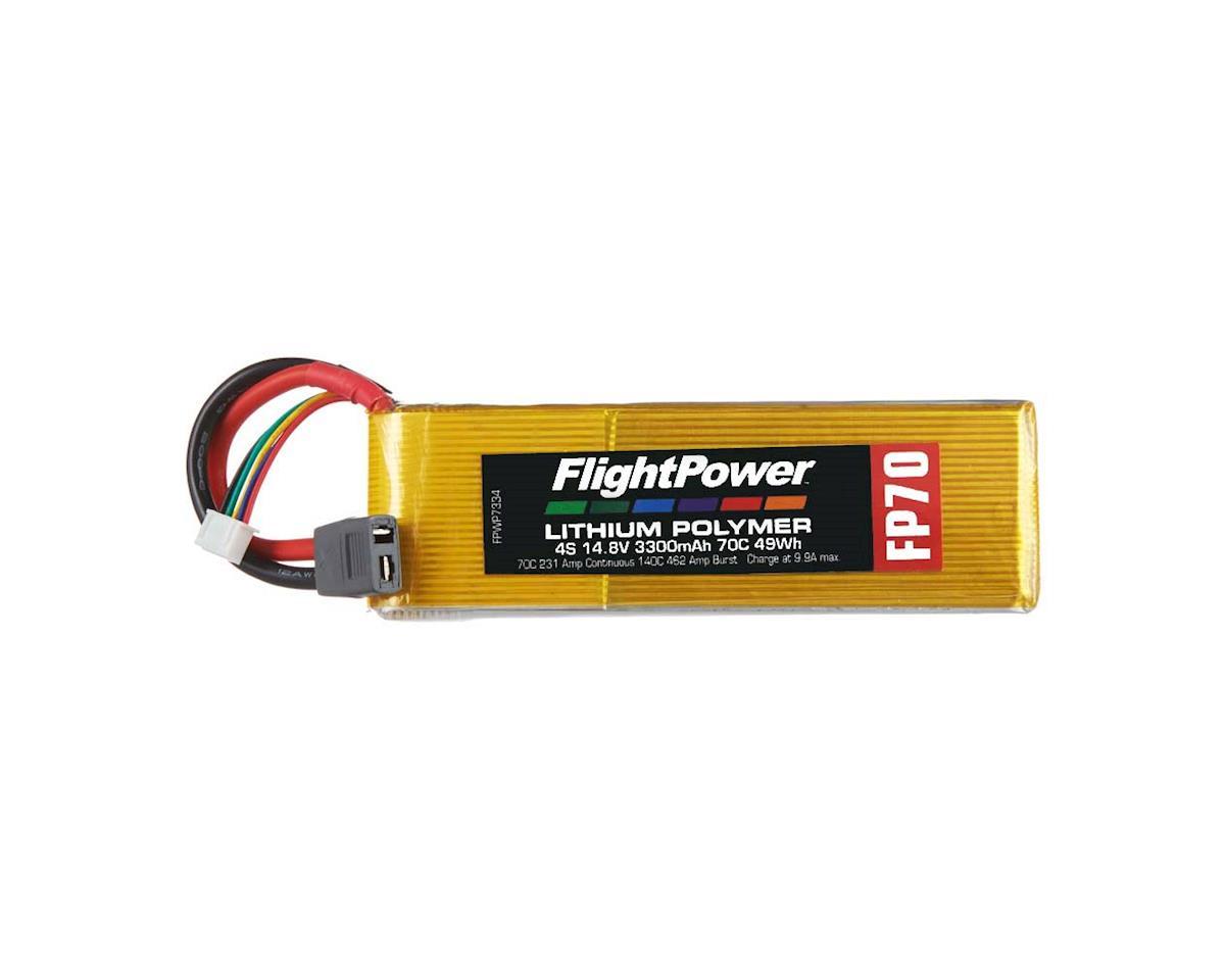 FlightPower LiPo FP70 4S 14.8V 3300mAh 70C Star Plug