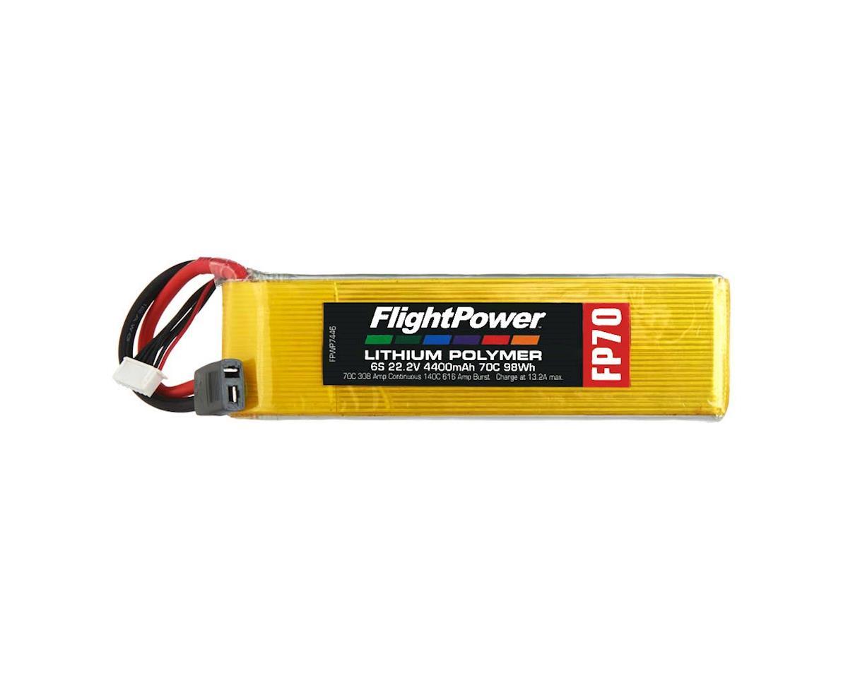 FlightPower LiPo FP70 6S 22.2V 4400mAh 70C Star Plug