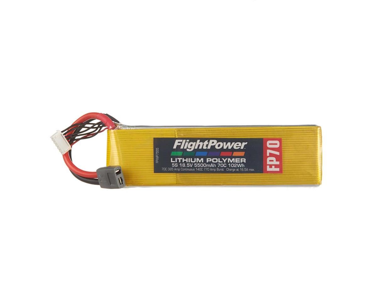 FlightPower LiPo FP70 5S 18.5V 5500mAh 70C Star Plug