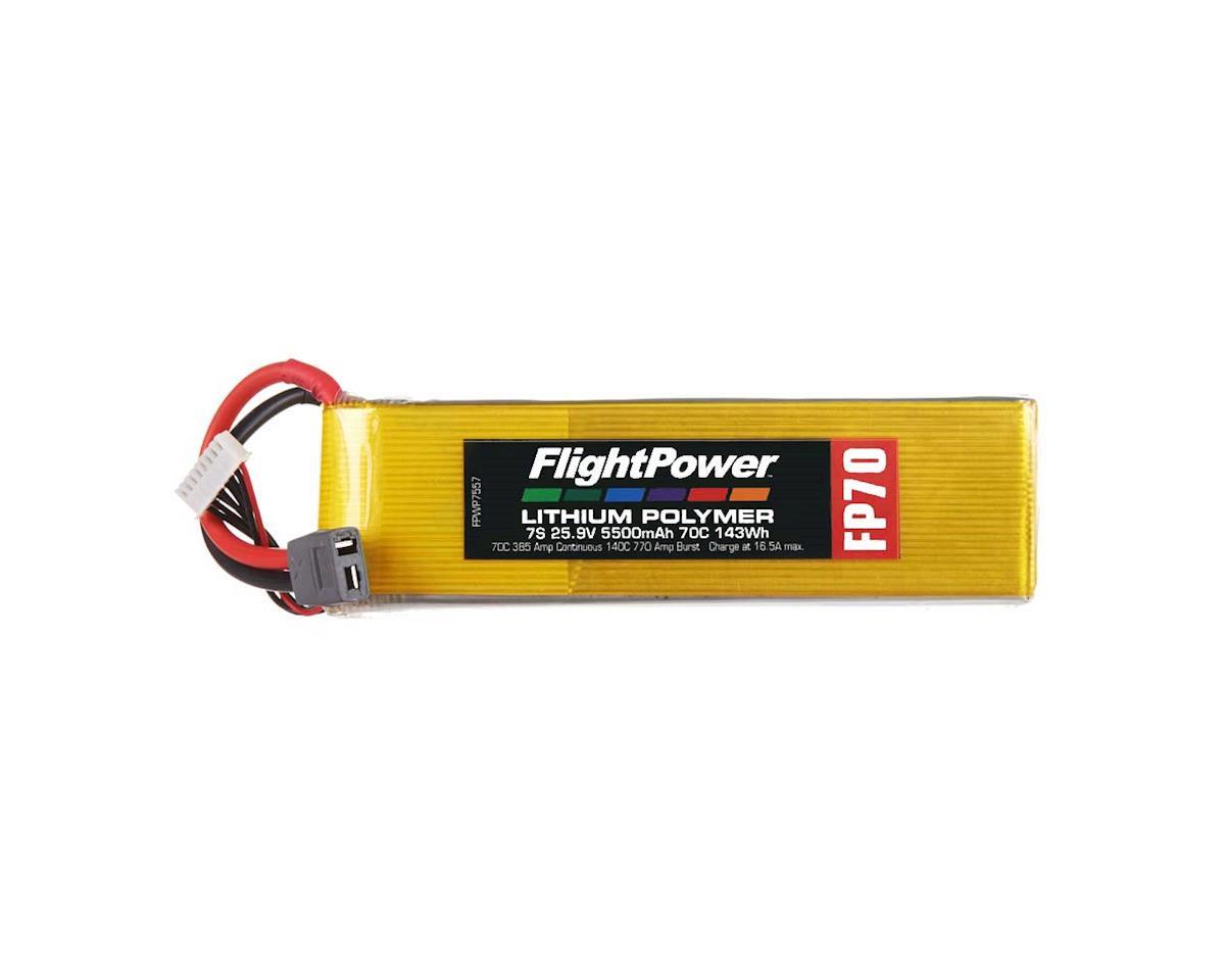 FlightPower LiPo FP70 7S 25.9V 5500mAh 70C Star Plug