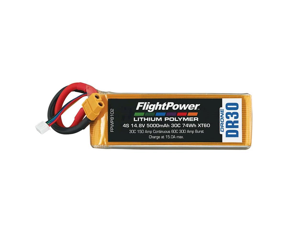 FlightPower LiPo Drone 4S 14.8V 5000mAh 30C XT60 Plug