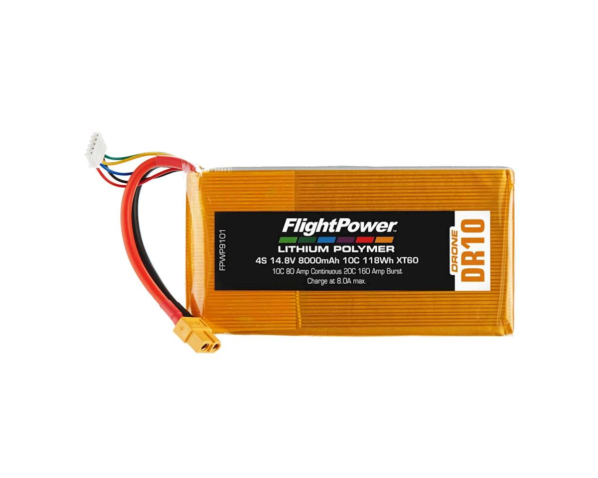 FlightPower LiPo Drone 4S 14.8V 8000mAh 10C XT60 Plug