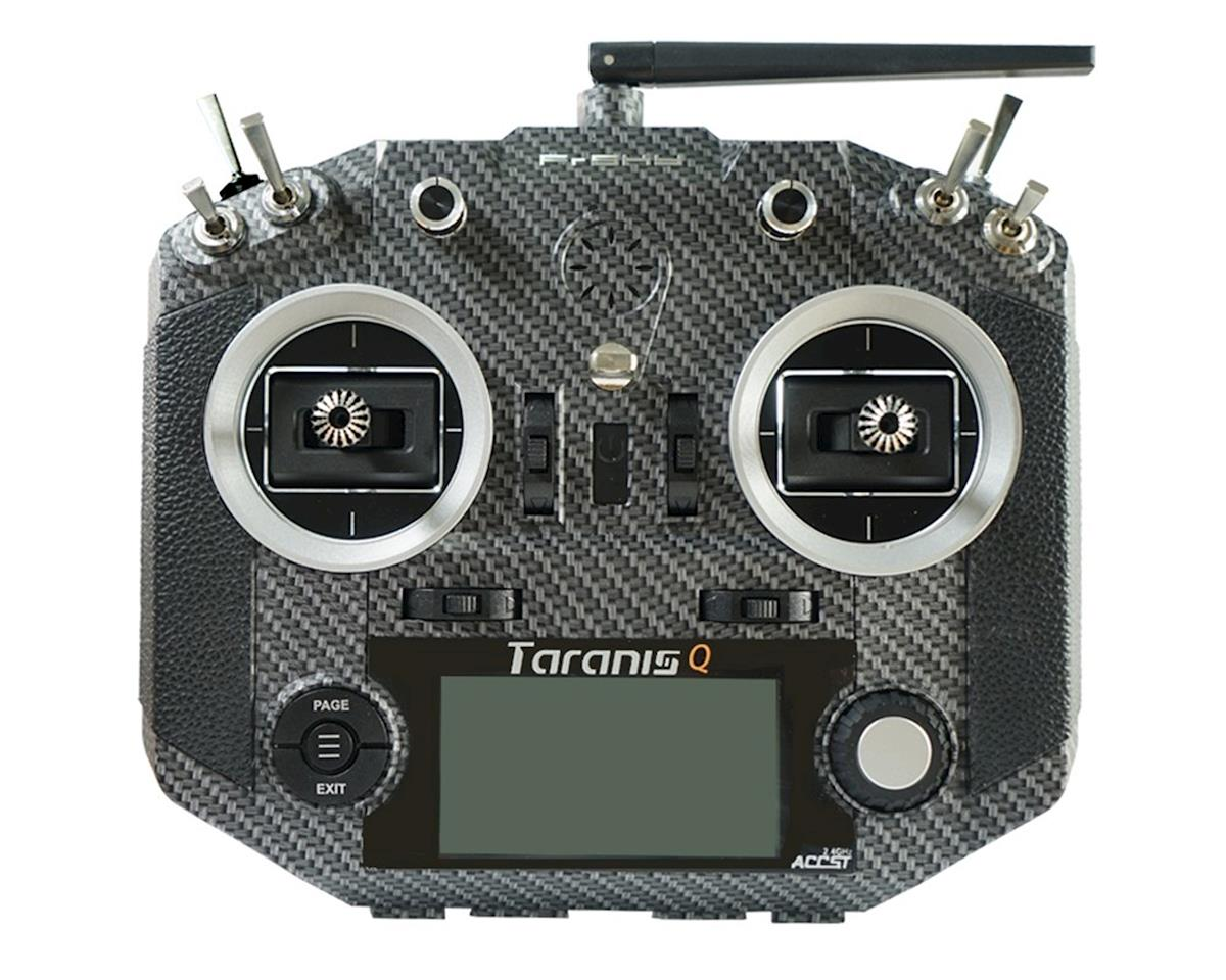 Taranis Q X7S Radio w/Upgraded M7 Hall Sensor Gimbals (Carbon Fiber) by FrSky