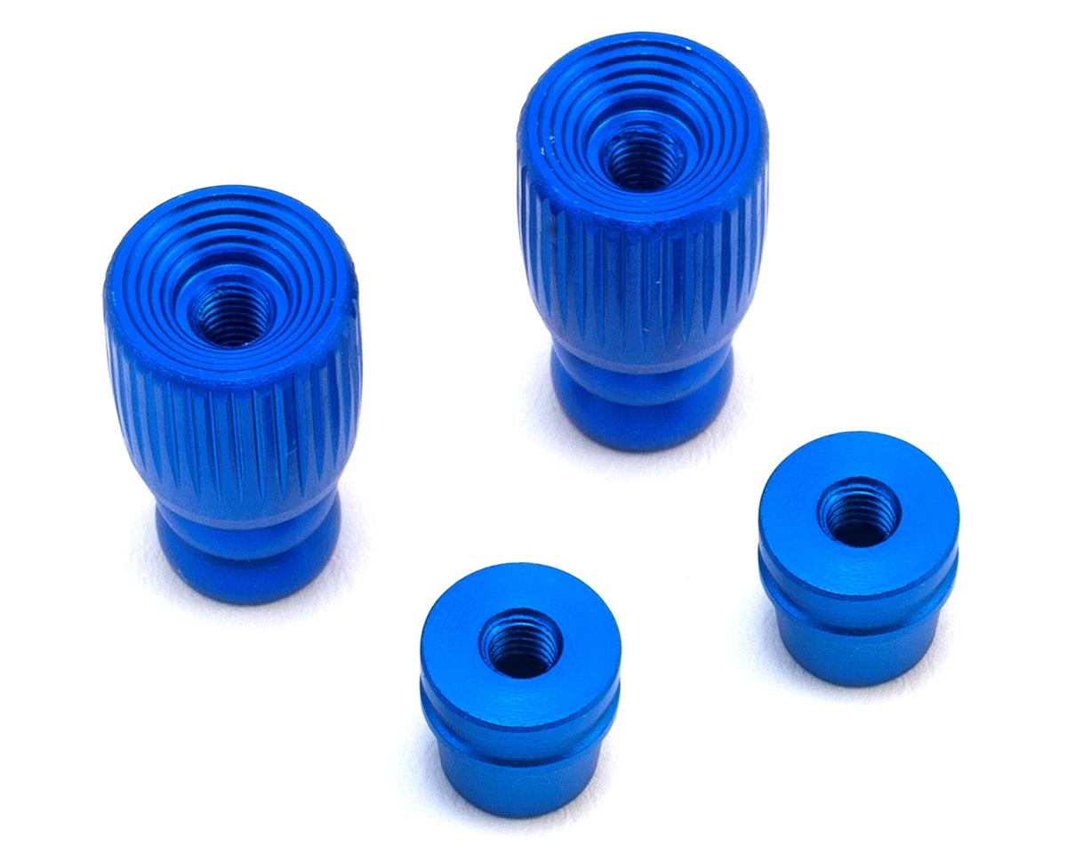 FrSky Pole Style 3D M3 Gimbal Stick End (Blue)