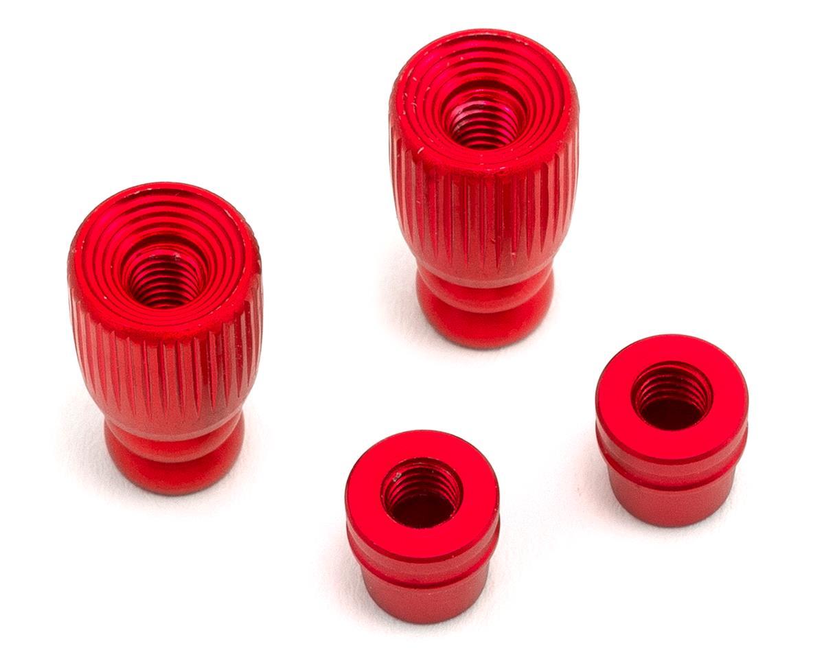 FrSky Pole Style 3D M4 Gimbal Stick End (Red)