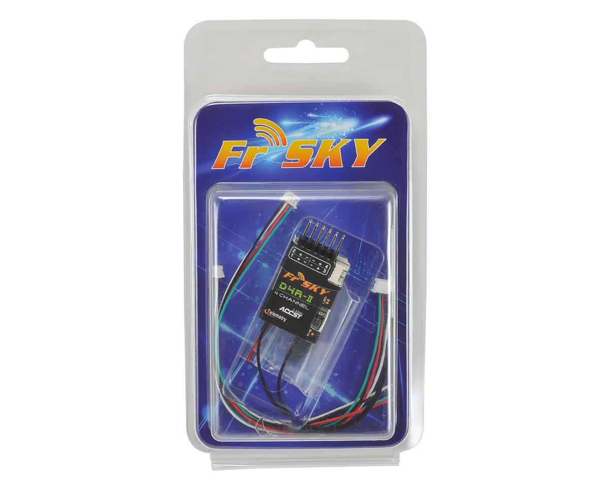 FrSky D4R-II 4 Channel Telemetry Receiver