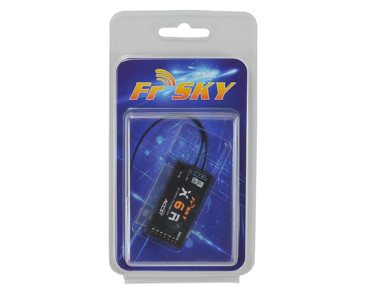FrSky X6R 6-16 Channel Telemetry Receiver