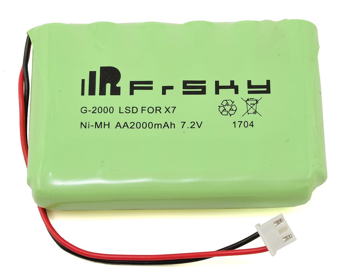 FrSky 2 4GHz Taranis QX7 16-Channel Telemetry Transmitter (Black) w/FrSky  2000mAh NiMh & Neckstrap