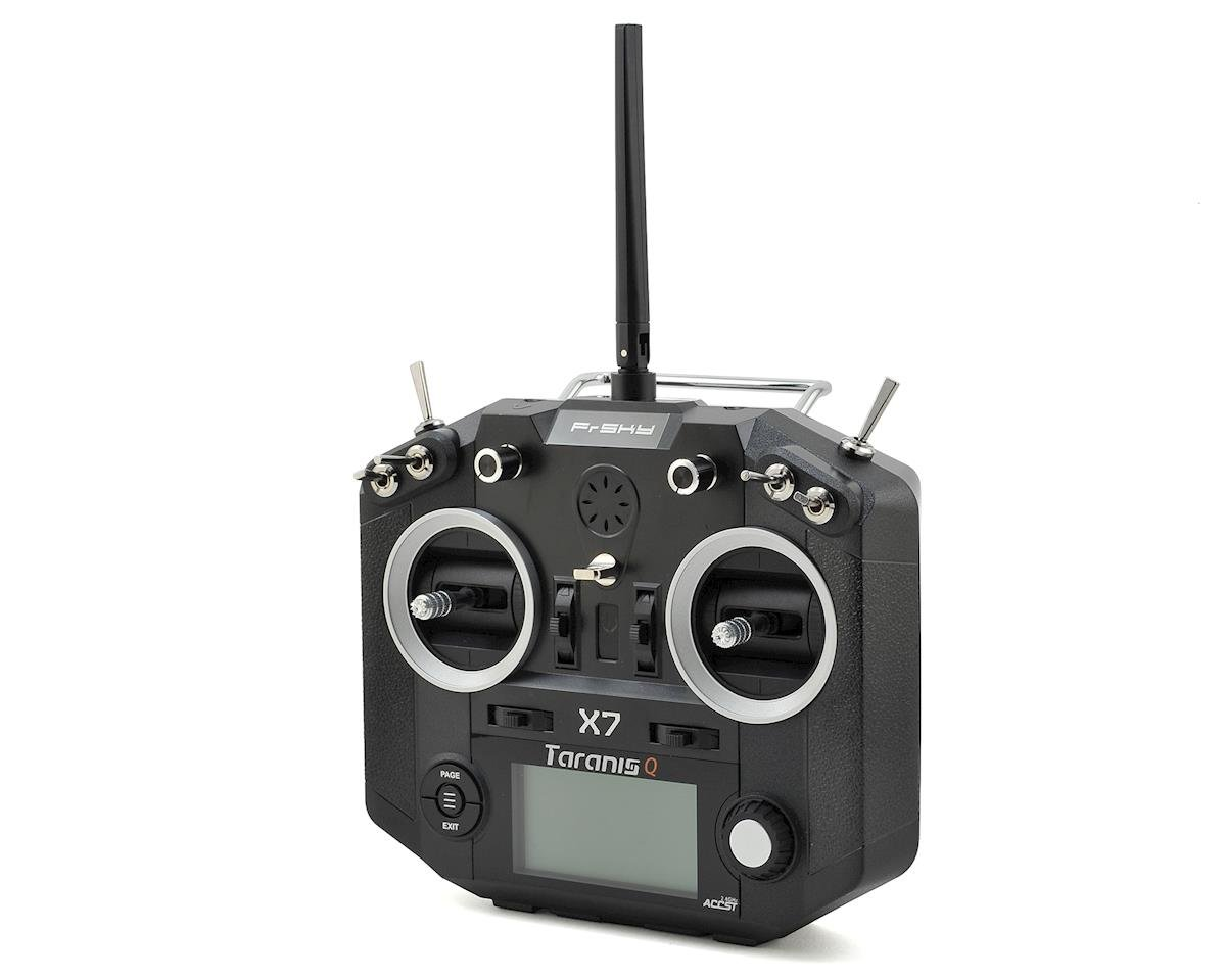 2.4GHz Taranis QX7 16-Channel Telemetry Transmitter (Black) by FrSky