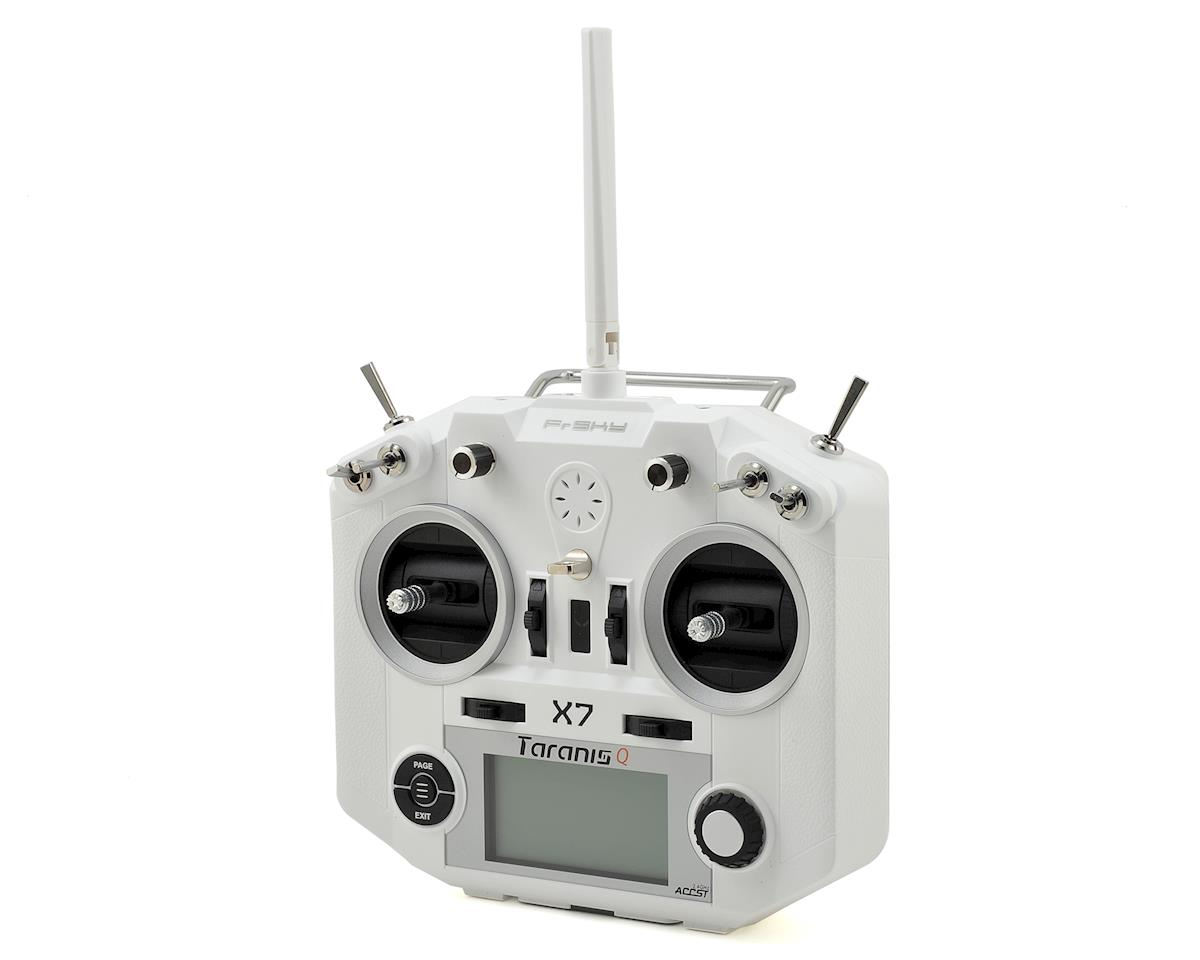 2.4GHz Taranis QX7 16-Channel Telemetry Transmitter (White) by FrSky