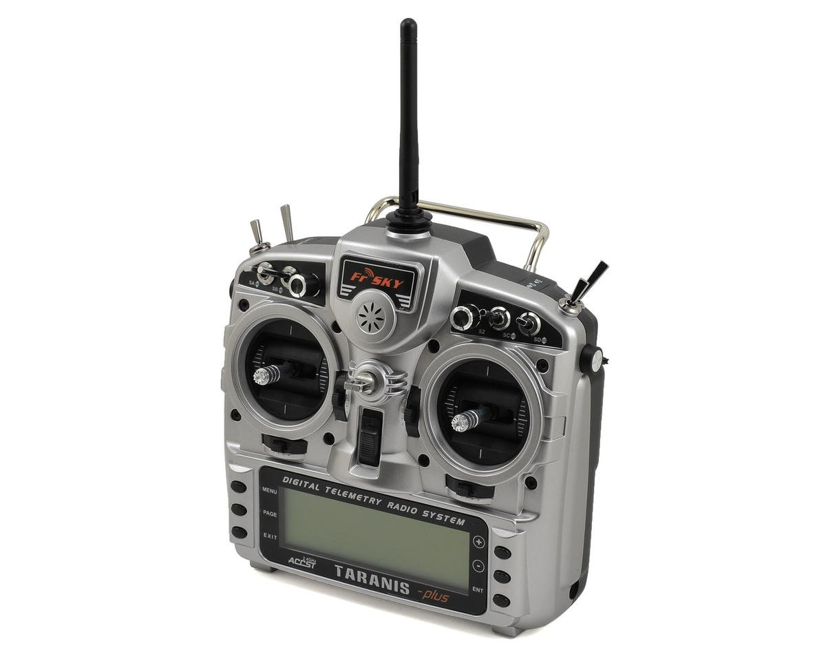 2.4GHz ACCST Taranis X9D PLUS Telemetry Transmitter w/X8R Receiver & Case by FrSky