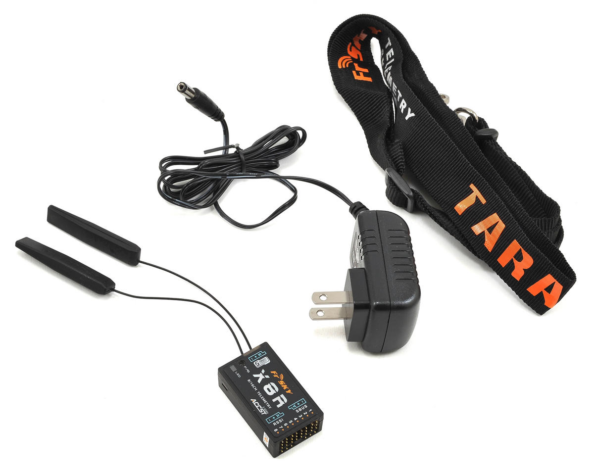 FrSky 2 4GHz ACCST Taranis X9D PLUS Telemetry Transmitter w/X8R Receiver &  Case