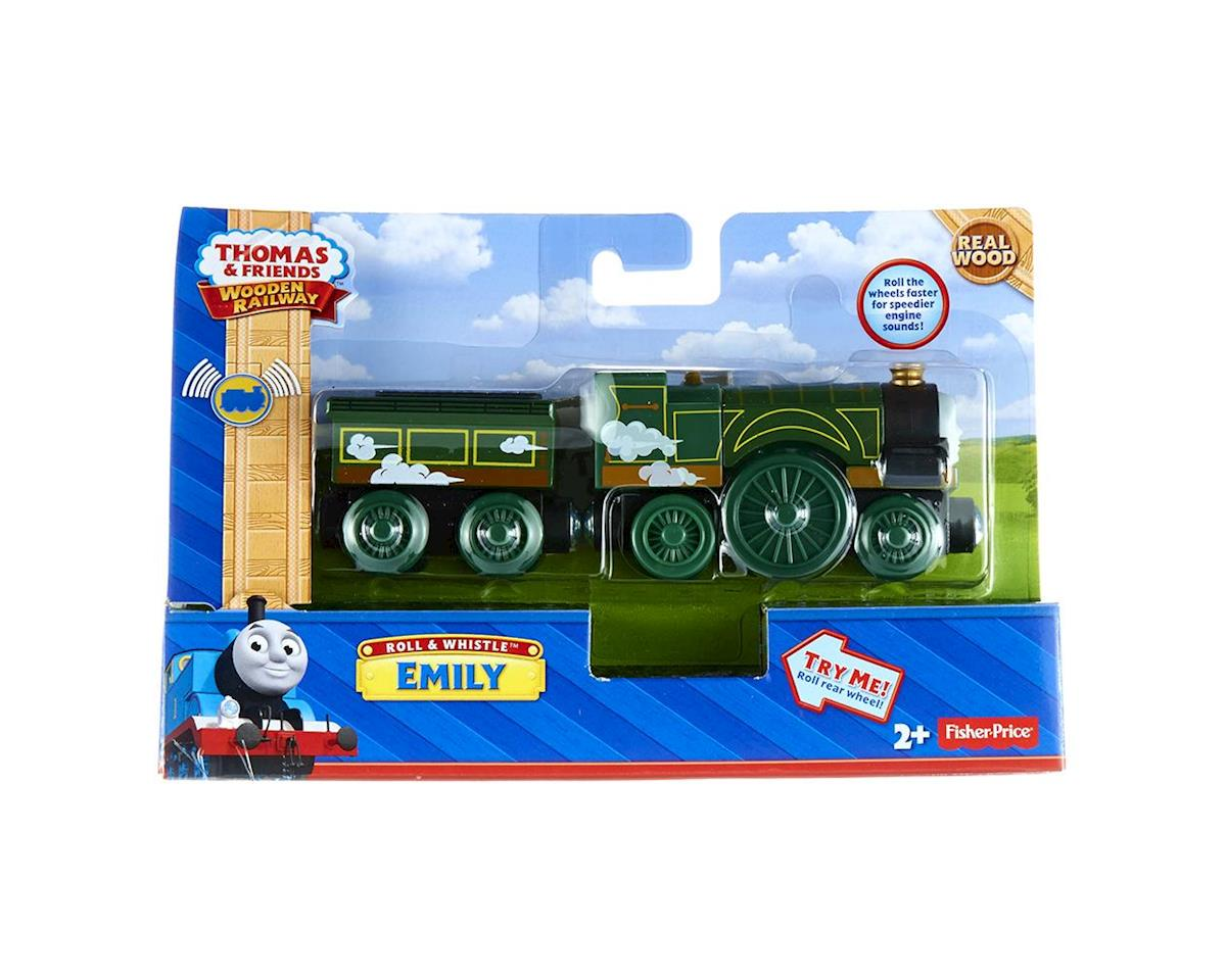 BDG16 T&F Roll 'N Whistle Emily w/Tender Engine by Fisher Price