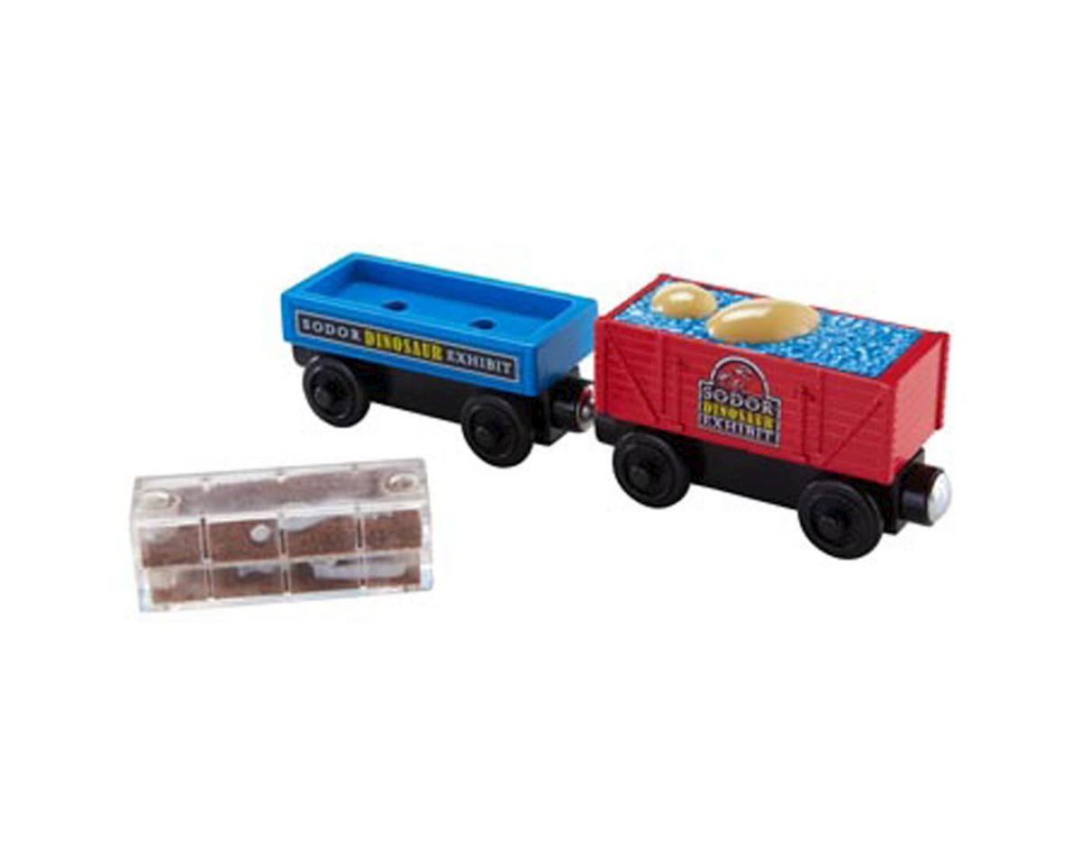 TWR Dino Fossil Freight Cars (2) by Fisher Price