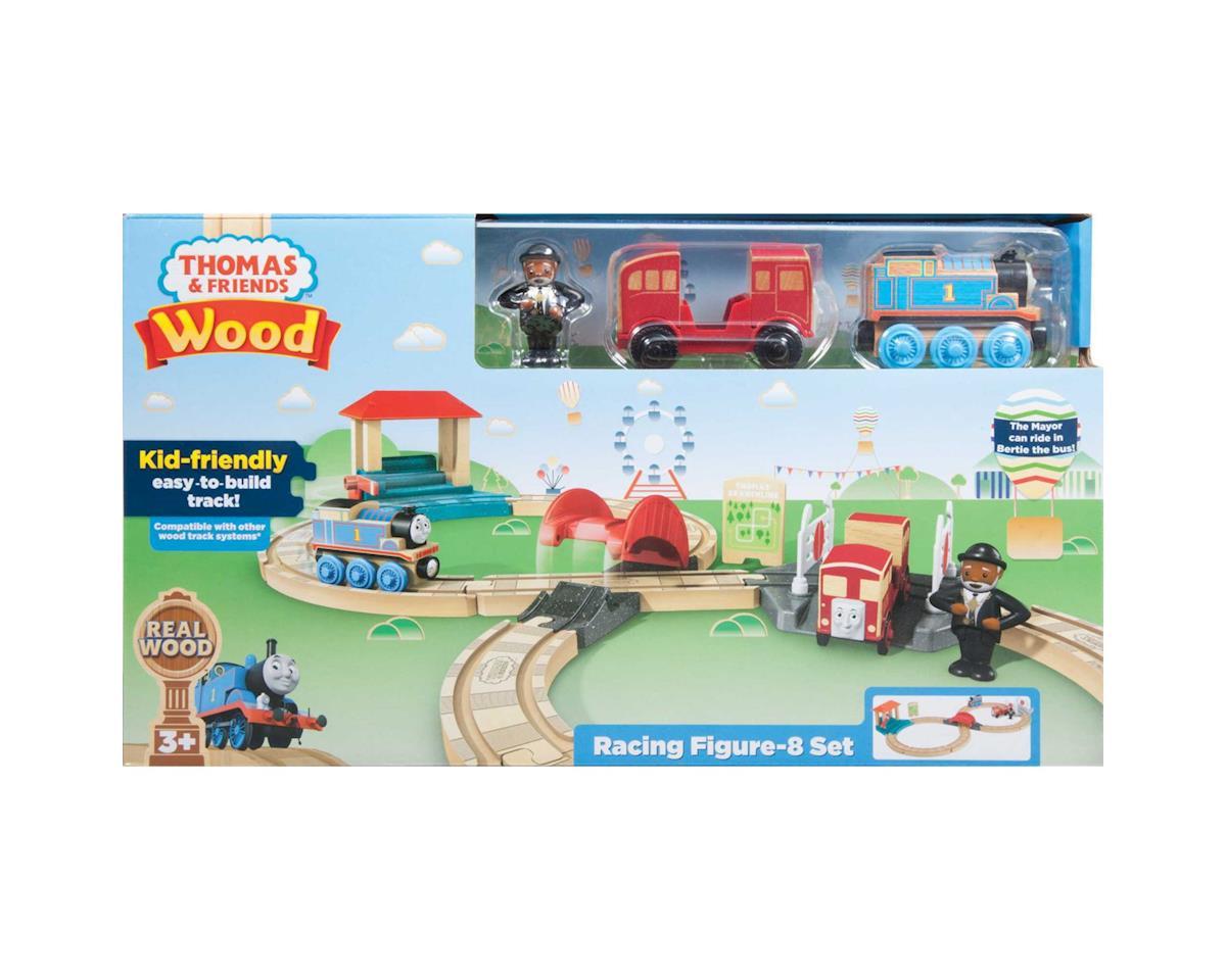 Fisher Price Thomas Wood Racing Figure 8 Set