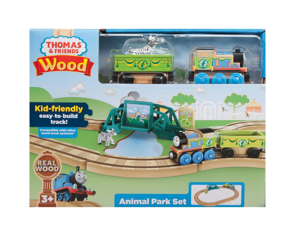 Thomas Wood Animal Park Set by Fisher Price