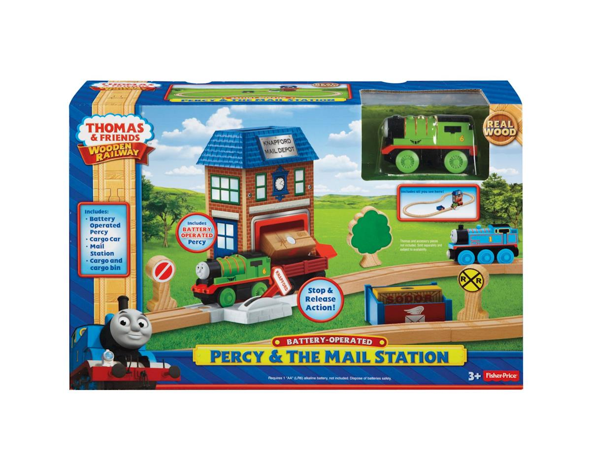 Fisher Price TWR Percy & The Mail Station Set