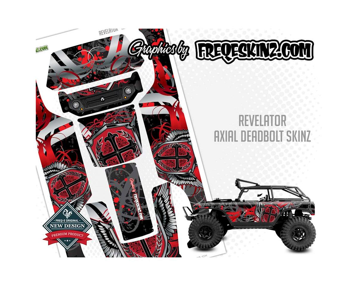 Freqeskinz 13020 sKinz Revelator Design Axial Deadbolt