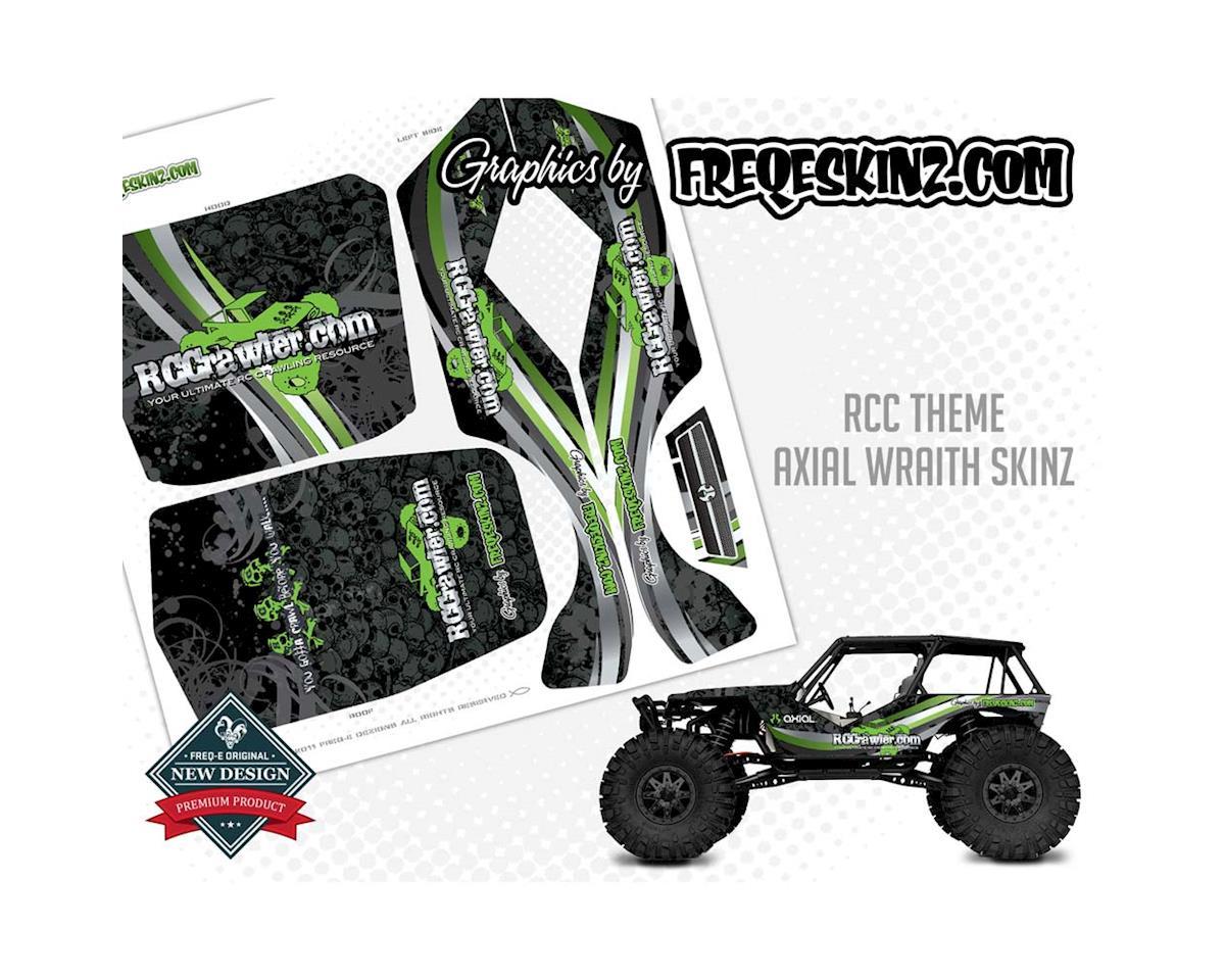 Freqeskinz 20519 sKinz RCC Theme Design Axial Wraith